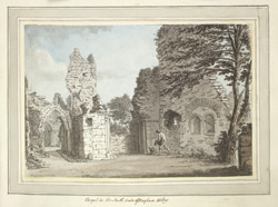 Bayham Abbey f. 13 (no. 23)